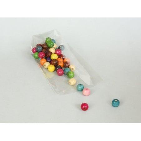 12 sachets en plastique transparent