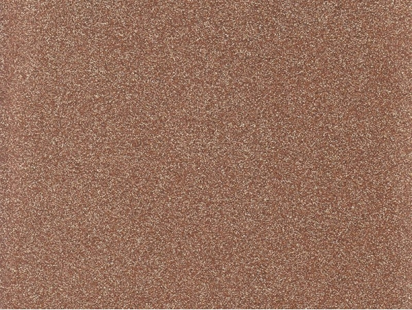 Iron-on fabric with glitter - copper-coloured