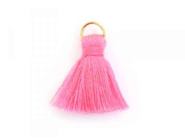 Acheter Pendentif pompon - rose fluo - 0,59€ en ligne sur La Petite Epicerie - 100% Loisirs créatifs
