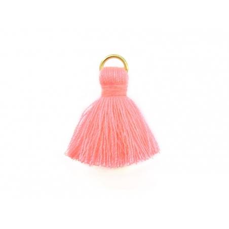 Acheter Pendentif pompon - rose - 0,59€ en ligne sur La Petite Epicerie - 100% Loisirs créatifs