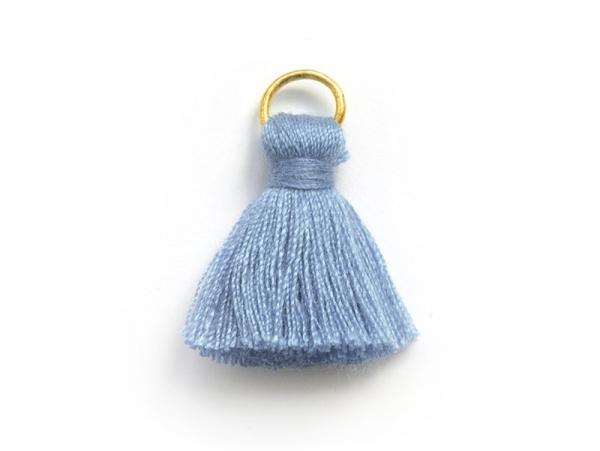 Acheter Pendentif pompon - bleuet - 0,59€ en ligne sur La Petite Epicerie - Loisirs créatifs