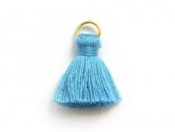 Tassel pendant - blue