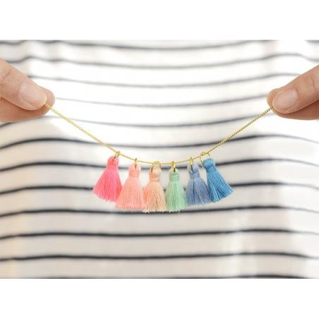 Acheter Pendentif pompon - bleu - 0,59€ en ligne sur La Petite Epicerie - Loisirs créatifs