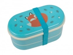 Airtight box/bento box - Rusty the fox