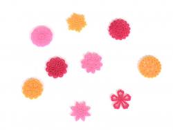 Mini feutrine - Fleurs
