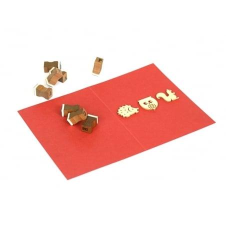 Acheter Mini silhouettes en bois - Nature - 2,99€ en ligne sur La Petite Epicerie - Loisirs créatifs