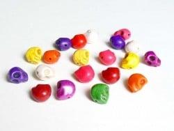 Acheter 20 perles tête de mort Skulls / M - 4,90€ en ligne sur La Petite Epicerie - 100% Loisirs créatifs