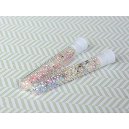Acheter Tube de 350 perles ceylons - multicolore foncé - 0,99€ en ligne sur La Petite Epicerie - Loisirs créatifs