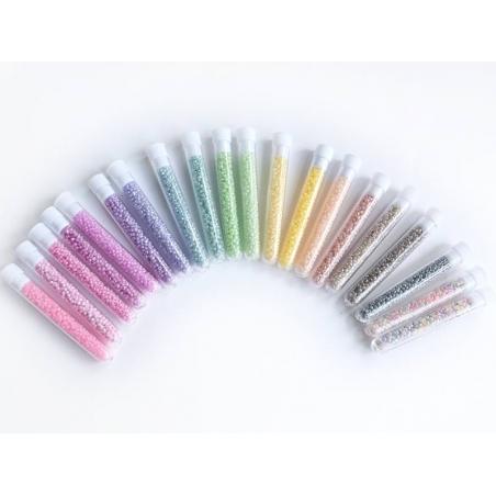 Acheter Tube de 350 perles ceylons - marron foncé - 0,99€ en ligne sur La Petite Epicerie - Loisirs créatifs