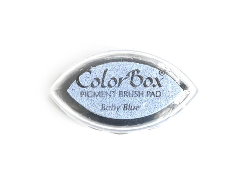 Sky-blue stamp ink pad