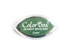 Green stamp ink pad