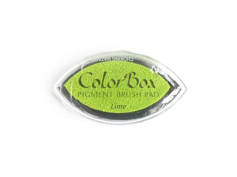 Apple-green stamp ink pad