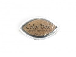 Copper-coloured stamp ink pad