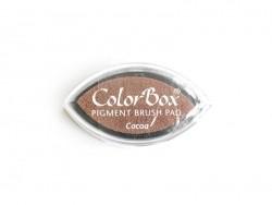 Brown stamp ink pad