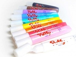 Puffy paint pens - set with 10 colours