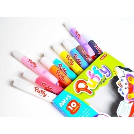Acheter Stylos Puffy paint - Lot de 10 couleurs - 7,50€ en ligne sur La Petite Epicerie - 100% Loisirs créatifs