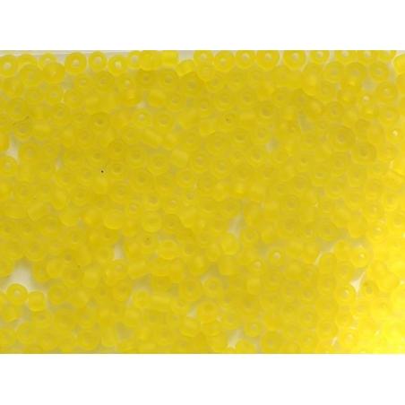 Acheter Tube de 350 perles transparentes mattes - jaune - 0,99€ en ligne sur La Petite Epicerie - Loisirs créatifs