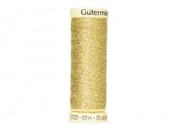 Metallic effect thread - 50 m - Gold (colour no. 24)