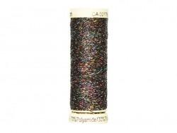 Metallic effect thread - 50 m - Black (colour no. 71)