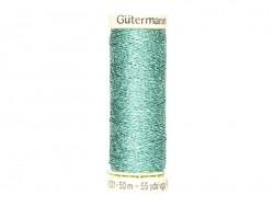 Metallic effect thread - 50 m - Green (colour no. 235)