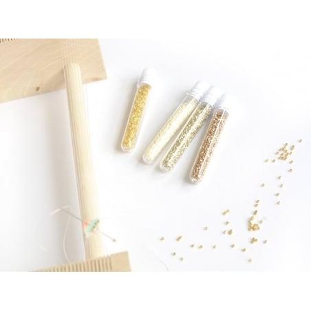 Acheter Miyuki Delicas 11/0 - Matte ab white 351 - 2,49€ en ligne sur La Petite Epicerie - Loisirs créatifs