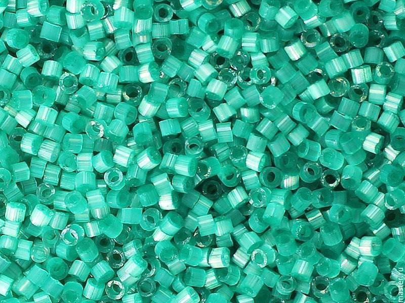 Miyuki Delicas 11/0 - Vert Aqua 1813