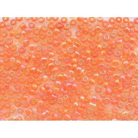 Acheter Tube de 350 perles transparentes irisées - orange foncé - 0,99€ en ligne sur La Petite Epicerie - Loisirs créatifs