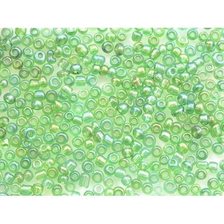 Acheter Tube de 350 perles transparentes irisées - vert sapin - 0,99€ en ligne sur La Petite Epicerie - Loisirs créatifs
