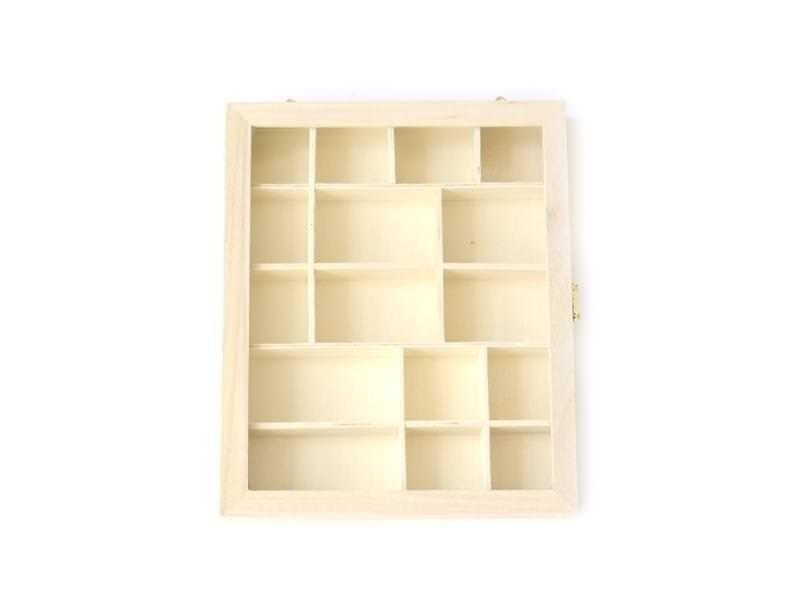 Acheter Vitrine en bois à customiser - 9,50€ en ligne sur La Petite Epicerie - Loisirs créatifs
