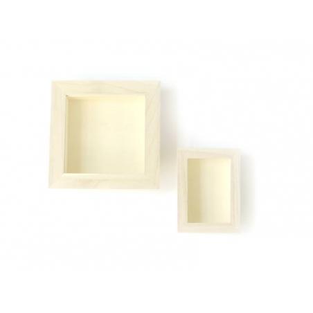 Petite vitrine en bois à customiser Artemio - 2