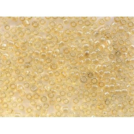 Acheter Tube de 350 perles transparentes lustrées - jaune grisé - 0,99€ en ligne sur La Petite Epicerie - 100% Loisirs créatifs