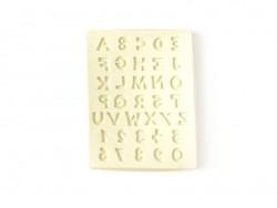 Moule en silicone Chiffres et Lettres Artemio - 1