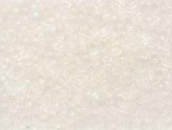 Tube de 350 perles transparentes - blanc