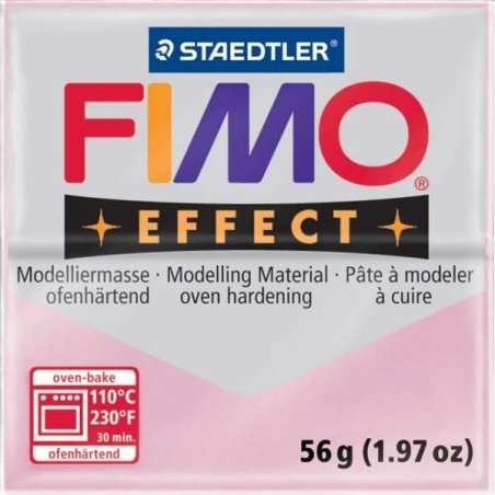 Acheter Pâte Fimo EFFECT Rose quartz 206 - 1,99€ en ligne sur La Petite Epicerie - 100% Loisirs créatifs