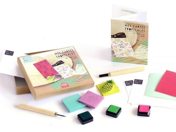 Kit MKMI - Mes tampons à graver - DIY La petite épicerie - 1