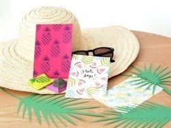 """MKMI"" Kit -  Mes cartes tropicales (My tropical cards)"