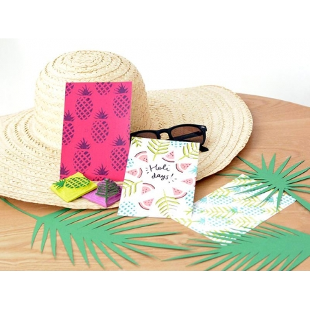 """MKMI"" Kit -  Mes cartes tropicales (My tropical cards)"