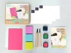 Acheter Kit MKMI - Mes tampons à graver - DIY - 16,99€ en ligne sur La Petite Epicerie - Loisirs créatifs