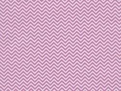 Tissu chevrons - rose