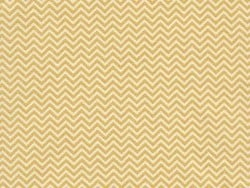 Fabric with a zigzag pattern - yellow
