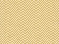 Stoff mit Zickzackmuster - gelb