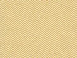 Tissu chevrons - jaune