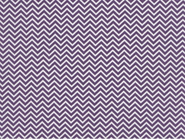 Fabric with a zigzag pattern - violet