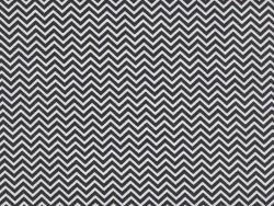 Tissu chevrons - noir