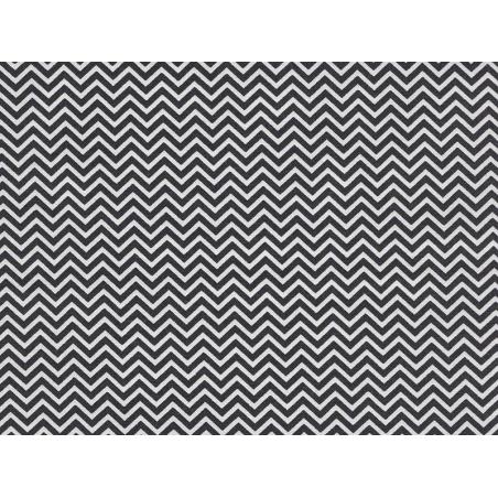 Acheter Tissu chevrons - noir - 1,79€ en ligne sur La Petite Epicerie - 100% Loisirs créatifs