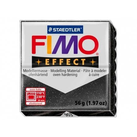 Pâte Fimo EFFECT Etoilé paillettes 903 Fimo - 1