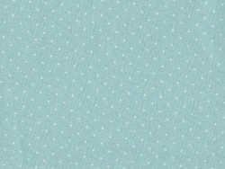 Fabric with polka dots - mint