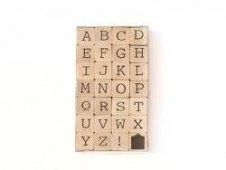 Stempel - Alphabet (Großbuchstaben) - 28 Zeichen