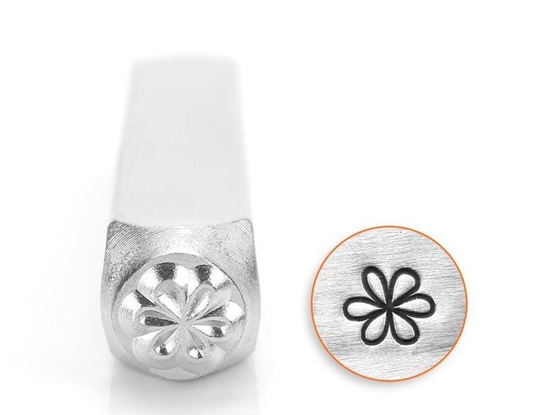 Metal stamp - flower
