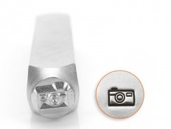 Metal stamp - camera